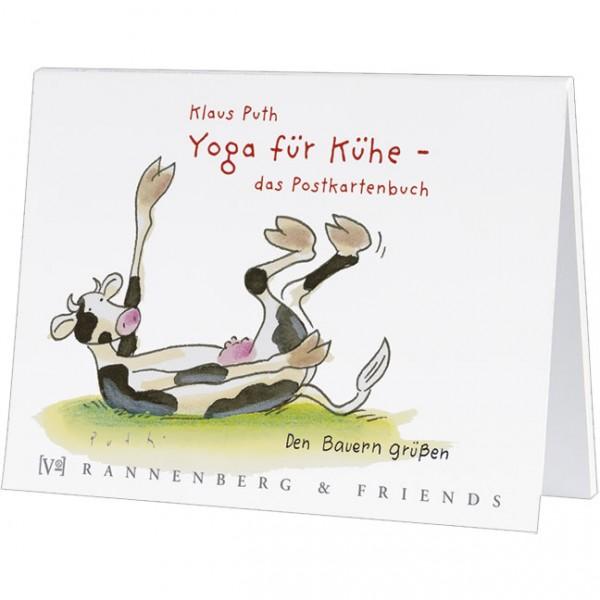 Postkartenbuch 'Yoga für Kühe'