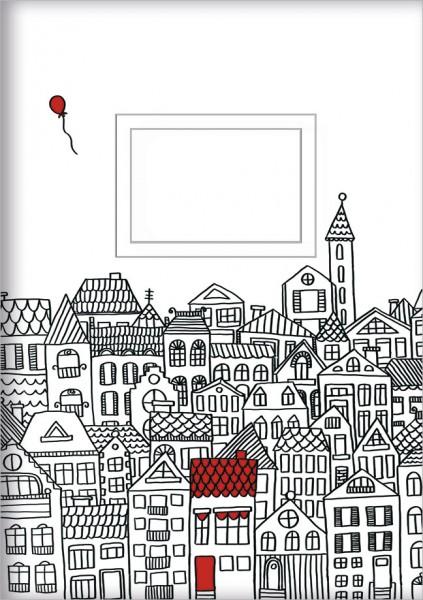 Kladden A5 'Roter Luftballon'