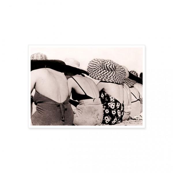 "Postkarte ""Schick am Strand"""