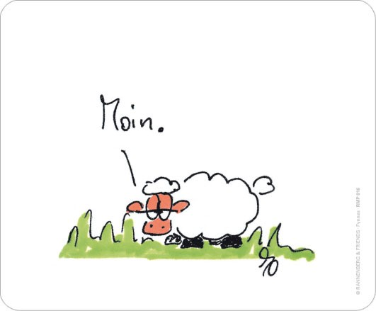 """Maus-Pad """"Moin"""""""