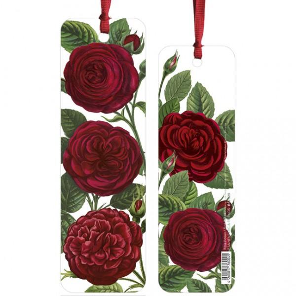 """Lesezeichen """"Rote Rosen"""""""