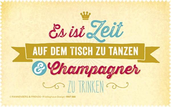 Netbooktuch 'Champagner'