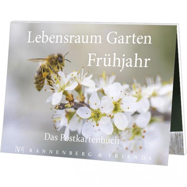 Postkartenbuch 'Lebensraum Garten - Frühjahr'
