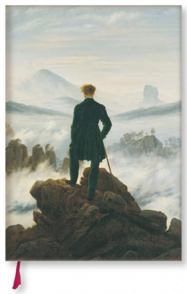 """Notizbuch """"Wanderer über dem Wolkenmeer"""""""