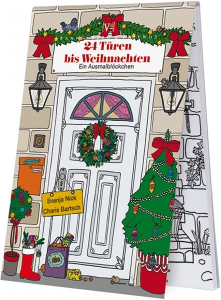Adventskalenderblöckchen '24 Türen bis Weihnachten' Svenja Nick / Charis Bartsch