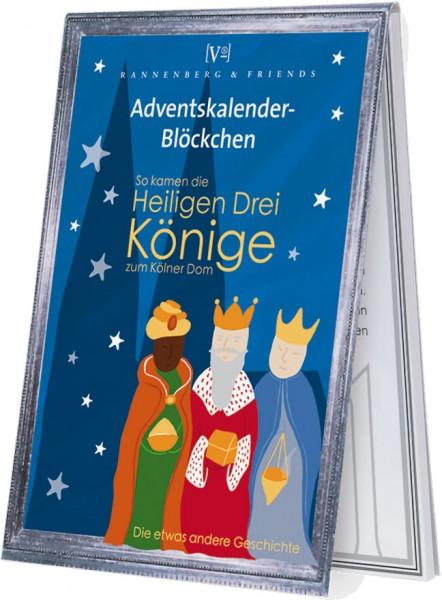 Adventskalenderblöckchen 'Die lustige Geschichte der heiligen drei Könige RSBW 014