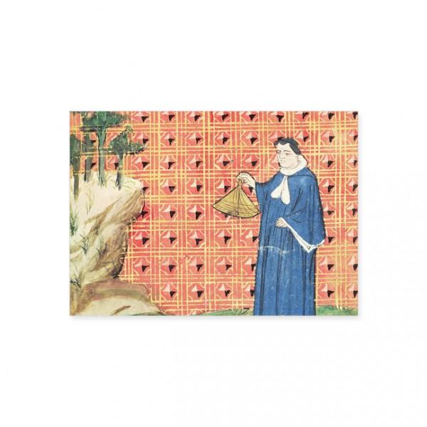 "Postkarte Gold ""Äquinoktium"""