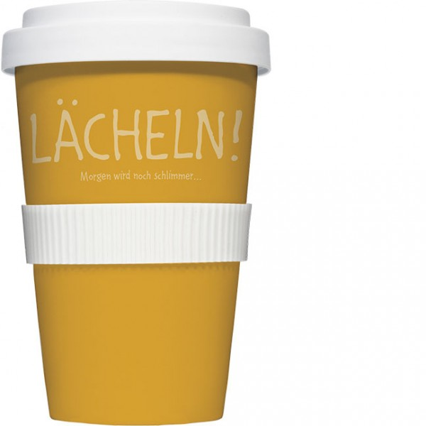 Coffee to go Becher 'Lächeln'