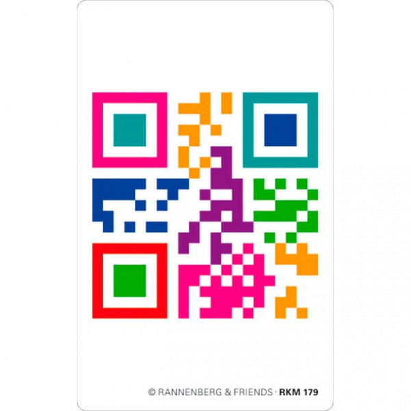 Magnete 'QR-Code 'Nicht vergessen''