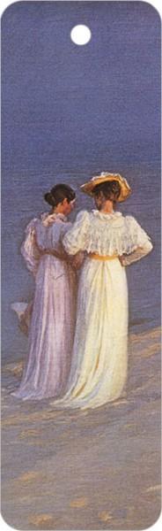 """Lesezeichen """"Sommerabend am Strand"""""""