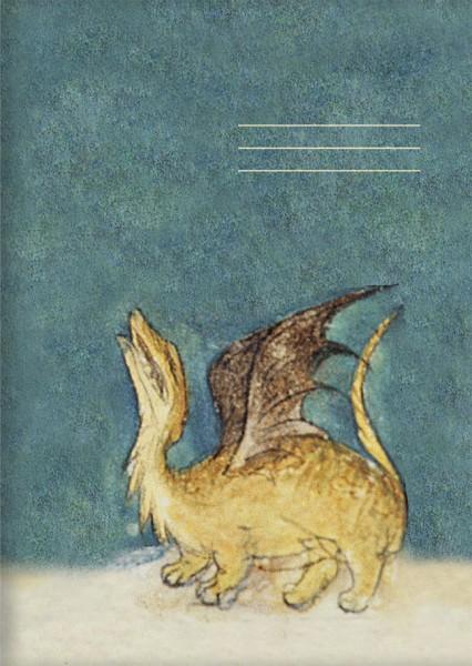 Kladden A6 'Drache aus dem Bestiarium' aus Le Livre des Proprietes des Choses