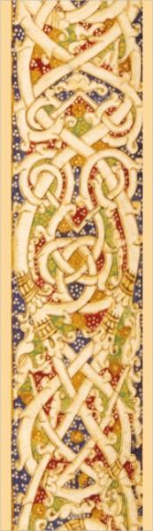 """Lesezeichen Gold """"Trogi Pompei Historiarum Philippicartum Epitoma, Detail"""""""