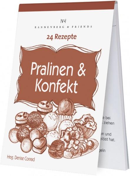 "Rezeptblöckchen ""24 Rezepte - Pralinen und Konfekt"""