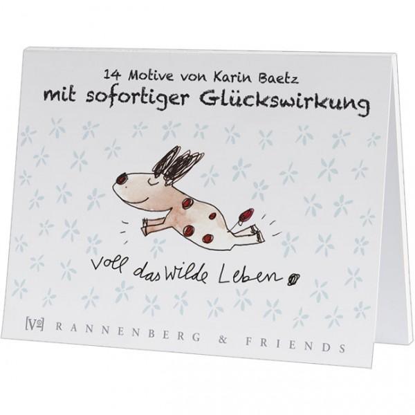 Postkartenbuch 'Lustige Motive mit Sofortwirkung'