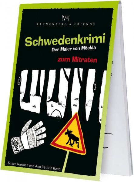 """Spieleblöckchen """"Schwedenkrimi - Der Maler von Möckla"""""""