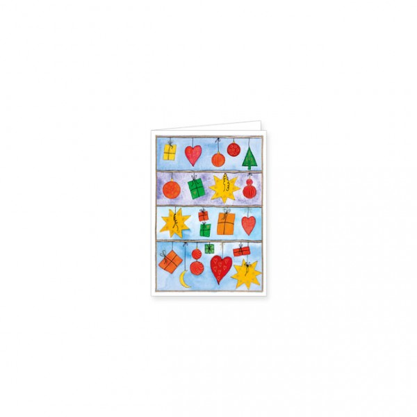 "Mini-Doppelkarte X-Mas ""Weihnachtsfenster"""