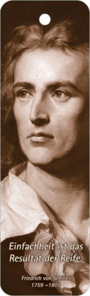 Lesezeichen Friedrich Schiller