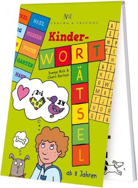 Spieleblöckchen 'Kinder Worträtsel'
