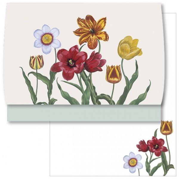 Schreib-Set 'Tulpen aus dem Garten von Eichstätt'