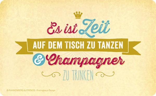 Frühstücksbrettchen 'Champagner'