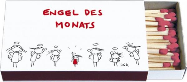 Zündholz-Schachteln 'Engel des Monats'