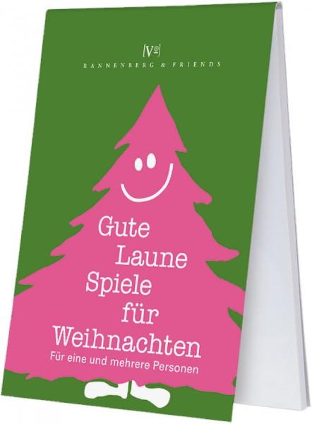 Weihnachtsspieleblöckchen 'Gute-Laune-Spiele für Weihnachten'