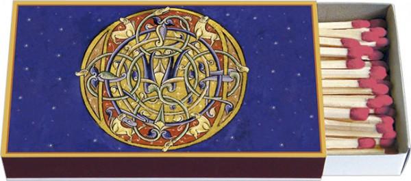 Zündholz-Schachteln 'Aus der Bibel de Saint André, illustriertes Initial O'
