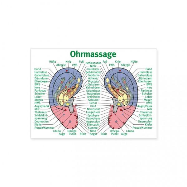 """Postkarte """"Ohrmassage"""""""
