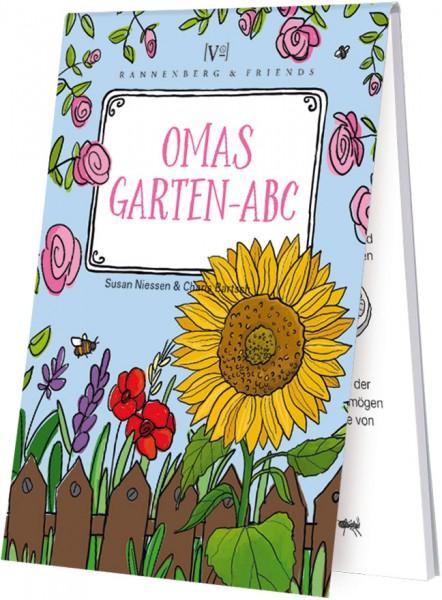 """Spieleblöckchen """"Omas Garten-ABC"""""""