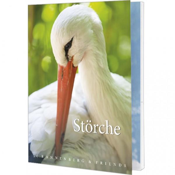 """Postkartenbuch """"Störche"""""""