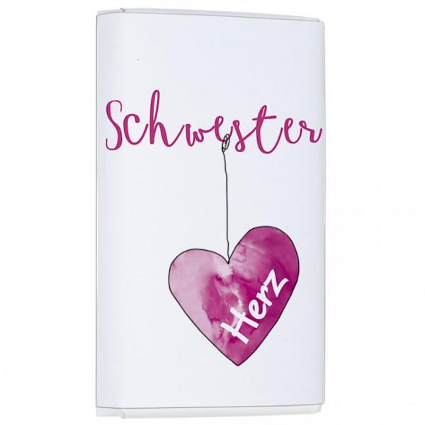 """Schokoladen-Täfelchen """"Schwesterherz"""""""