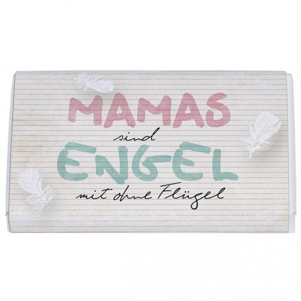 Schokoladentäfelchen 'Mamas sind Engel'