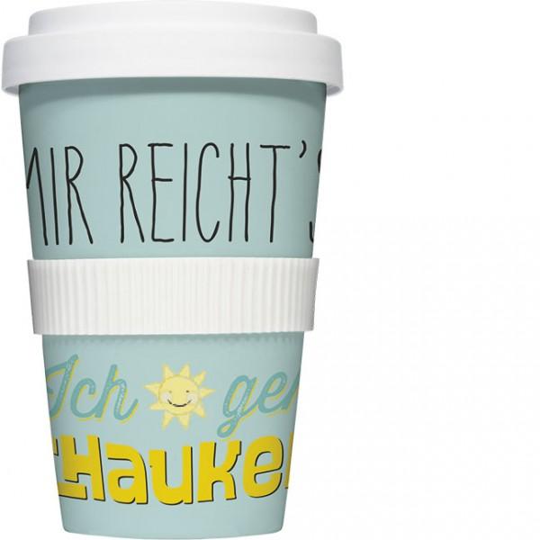 Coffee to go 'Mir reicht's'