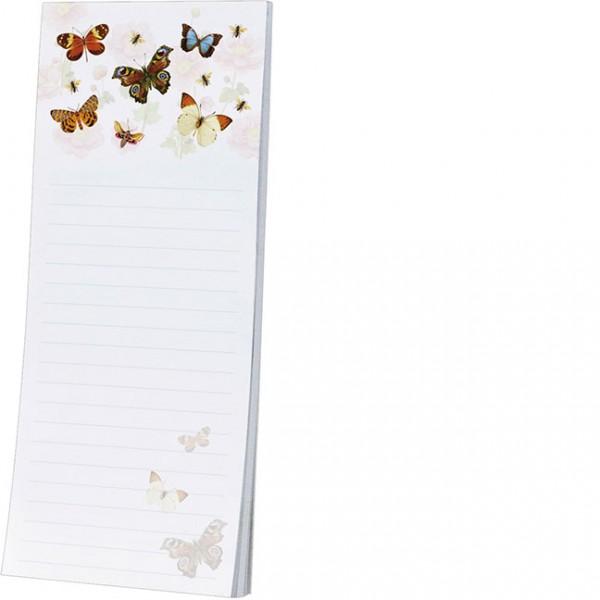 Kühlschrankblöckchen 'Bunte Schmetterlinge'