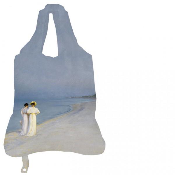 Einkaufsbeutel 'Sommerabend am Strand'