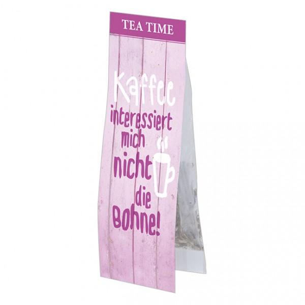 Tea Time 'Kaffee interessiert mich nicht die Bohne'