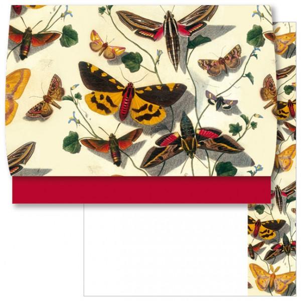 Schreib-Set 'Schmetterlinge'