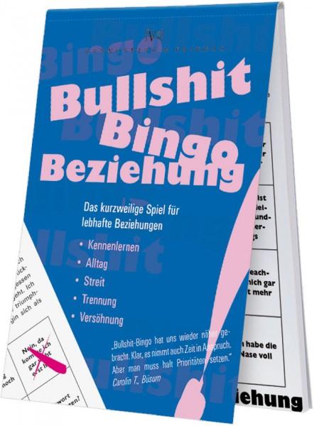 Spieleblöckchen 'Bullshit-Bingo Beziehung'