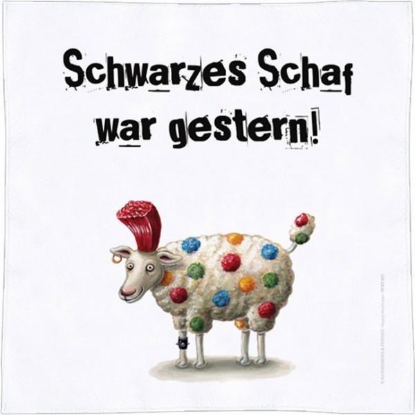 Spültuch 'Schwarzes Schaf'