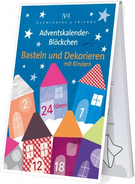 Adventskalenderblöckchen 'Basteln und Dekorieren mit Kindern' -RSBW 018