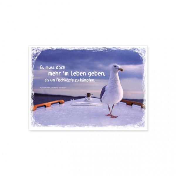 """Postkarte """"Es muß doch mehr im Leben geben, ..."""""""