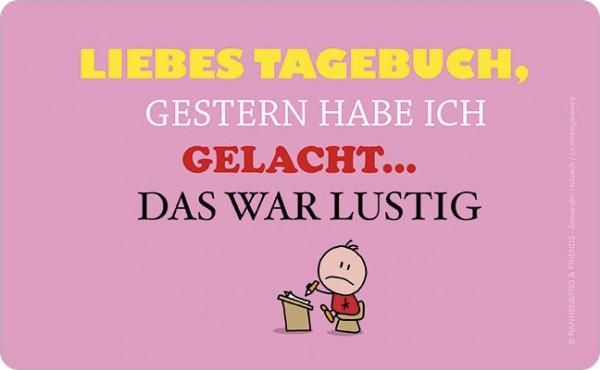 """Brettchen """"Tagebuch"""""""