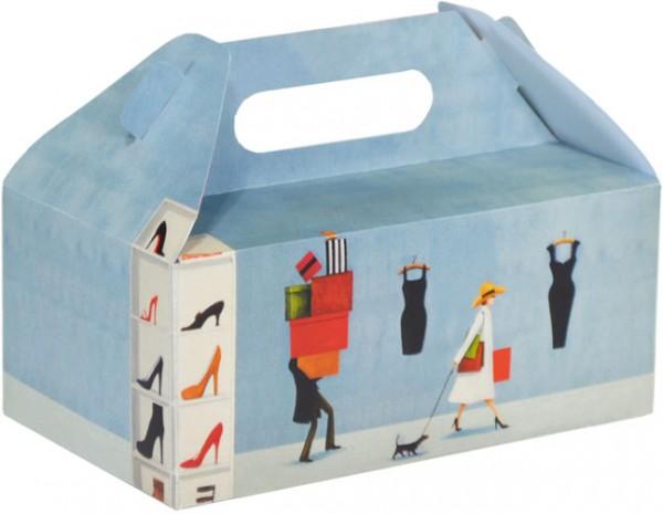 Die Schachtel 'Kaufrausch'
