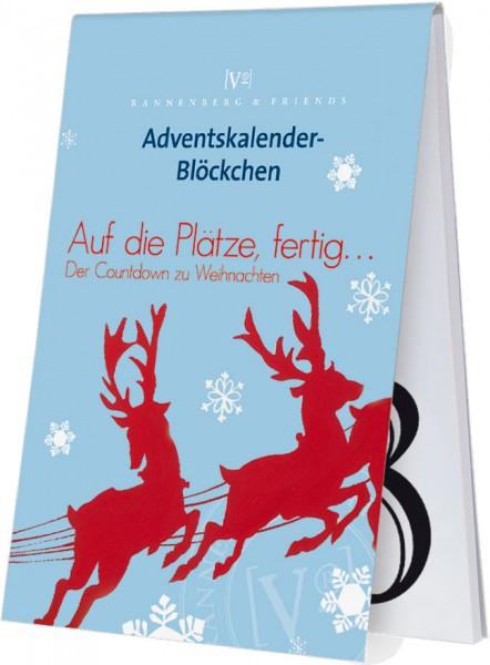 Adventskalenderblöckchen 'Weihnachts Countdown' -RSBW 004