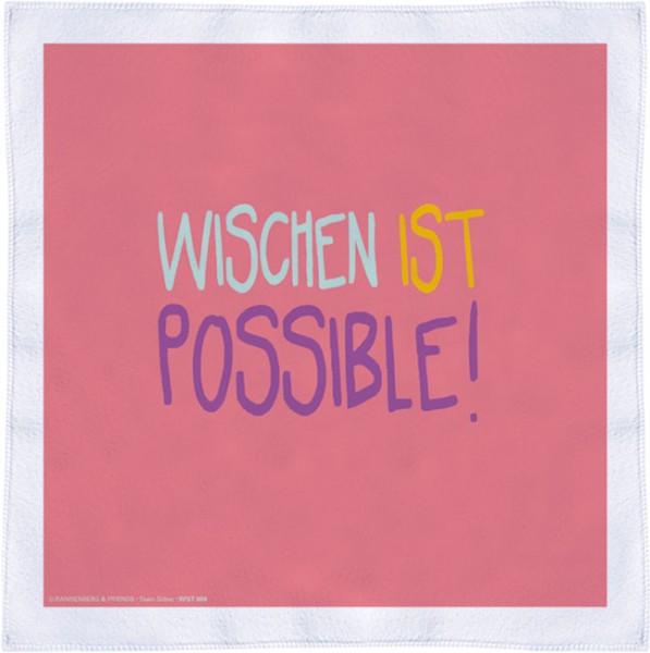 Spültuch 'Wischen ist possible'