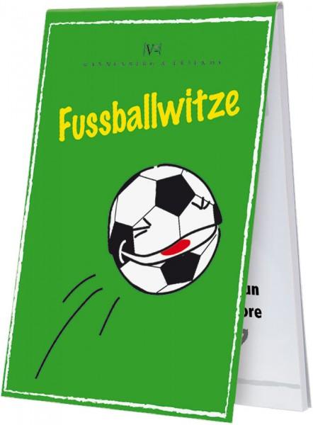 Spieleblöckchen 'Fußballwitze – Lachen bis der Schiri Kopf steht'