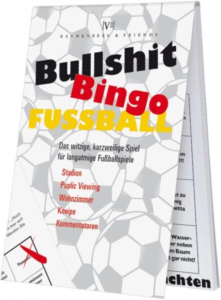Spieleblöckchen 'Bullshit-Bingo Fußball'