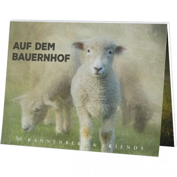 """Postkartenbuch """"Auf dem Bauernhof"""""""