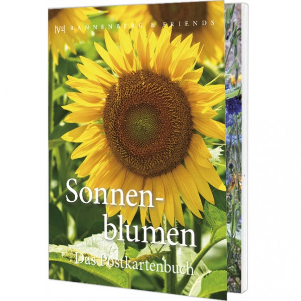 Postkartenbuch 'Sonnenblumen'