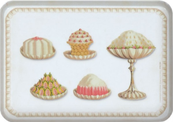 "Tablett small ""Selection of Sweets"""